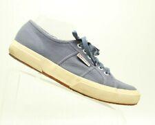 Superga Womens Canvas Sneakers Blue Casual Size US11.5 EU41.5