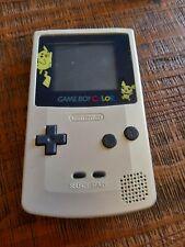 Console Game Boy Color Pokémon pikachu GameBoy Nintendo gb