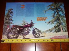 1980 YAMAHA SR500 - ORIGINAL ARTICLE