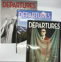 NEW Lot Of 3 Departures Magazine Nov/Dec 2020 Jan/Feb & March/April 2021
