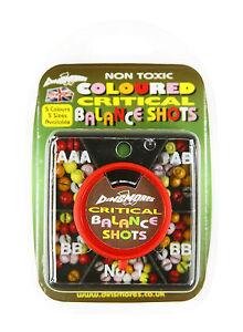 Dinsmores Non Toxic Syndicate Coloured Critical Balance Shots: AAA, AB, BB,No1