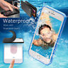 iPhone XS MAX XR X 7 8 6s Plus 6 Waterproof Dirt Shockproof Thin TPU Case Cover