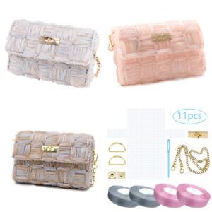 Womens Fashion Bag Crossbody Tote Shoulder Purse Handmade DIY Accessories Gift