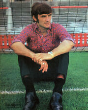 GEORGE BEST POSTER PAGE . FOOTBALL MANCHESTER UNITED NORTHERN IRELAND . F69J
