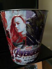 AMC Marvel Avengers Endgame Theater Exclusive Collector's Popcorn Tin Bucket