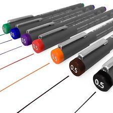 Staedtler 308 Pigmento Liner Fineliner – 0.5 Mm-juego completo de 7 Colores