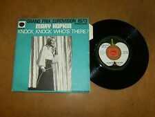 MARY HOPKIN - KNOCK KNOCK WHO'S THERE - I'M GOING TO FALL IN    / LISTEN - POP