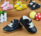Kids Baby Toddler Girls Princess Dress Shoes Casual Shoes Flars Size 5-7