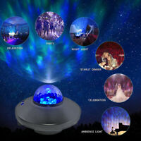 Romantic USB LED Starry Night Sky Projector Lamp Star Light Party Decor Gift