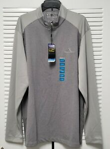 Pebble Beach Men's Golf Pullover Long Sleeve 1/4 Zip XXL Dry-Luxe Retail $60