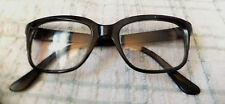 "Raybert ""He"" Horn Rim Black Nylon Eye/ Sunglasses Frame 60s Made in France"