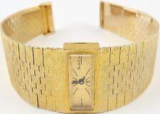 Swiss Buche Girod 9ct gold Vintage lady's 6.75 inch bracelet wrist watch Working