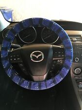 Dr Who Cartoon Tardis Steering Wheel Cover