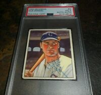 1950 BOWMAN Gus Zernial Signed Psa/dna Authenticated Autograph CHICAGO WHITE SOX