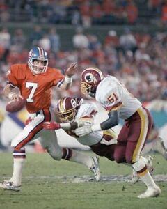 MONTE COLEMAN & JOHN ELWAY 8X10 PHOTO WASHINGTON REDSKINS PICTURE FOOTBALL NFL