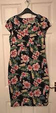Collectif London Floral Pin Up Dress Size L