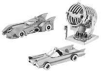 Oficial Dc Batman Tierra De Metal Acero Modelos 3D Corte Láser miniaturas, Regalo de hágalo usted mismo