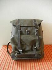 Original 1986 Swiss Army Military Waterproof Backpack Rucksack Rubberized Black