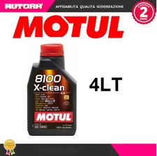 102786 4lt Olio 8100 X Clean 5W40 C3 100% synthetic (MARCA-MOTUL)