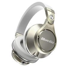 Bluedio u Plus (ufo) Pro auriculares Inalámbricos Bluetooth cascos Blanco-dorado