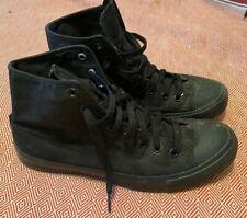 Shoes for Crews Converse High-Top Style Black Men's Shoes -Kitchen Safe - Sz 9.5