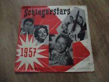 Vinyl10 Schlagerstars Schlagerernte 1957 German Press gut