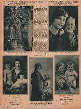Prize Portrait Photo Contest Winners w Photos 1928