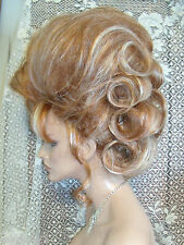 WOW VEGAS WIGS WOW LOOK UPDO PICK THE COLOR big loopee curls hot look