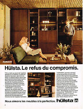 PUBLICITE  1977   HULSTA  meubles HORIZON