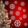 16 Schneeflocken Eiskristalle  Fensterbilder Weihnachten  Dekoration Snowflakes