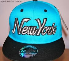 Exclusivo NY GORRA snapback, RETRO Ajustada, vintage Plano Peaks , Hip Hop borde