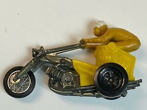 VTG Mattel rrRumblers Chopper Chariot Motorcycle #6 Rider