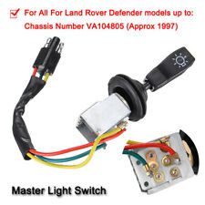 1 X Complete Master Light Switch Control Parts for Land Rover Defender PRC3430
