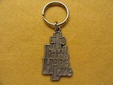 Faith Hope Love    Keychain