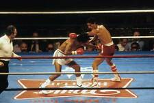 Old Boxing Photo Wilfredo Gomez Throws A Punch Against Lupe Pintor