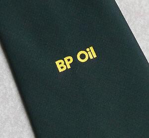 Vintage Tie MENS Necktie Crested Club BP OIL ROAD TANKER