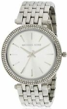 Michael Kors Silver Strap Casual Wristwatches