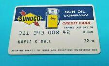 Sunoco - Sun Oil Company - Vintage Credit Card Expired 1972