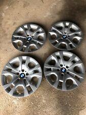 "BMW X1 Set Of 4 17"" Silver Wheel Trims"