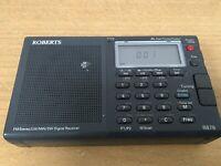 ROBERTS R-876 FM Stereo LW / MW / SW Portable Radio GWO
