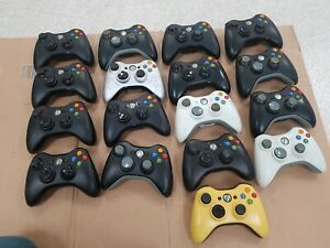 17 x  Microsoft Xbox 360 Wireless Controller bundle -- 100% UNTESTED.