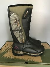 Ducks Unlimited Nighthawk 400g Thinsulate Camo Hunting Boots Womens 10