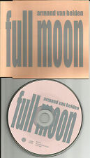 ARMAND VAN HELDEN Full Moon w/ RARE RADIO EDIT EUROPE PROMO CD single USA Seller