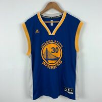 Golden State Warriors Basketball Jersey Adidas Mens Medium Curry #30 2015 Season