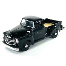 1950 Chevy 3100 Pickup Truck Black 1:25 Diecast Vehicle Maisto 34952