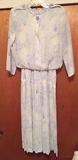 Leslie Fay Ladies Dress 3/4 Sleeves Sz 12