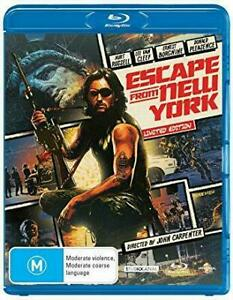 Escape From New York (Blu-ray, 2009) Kurt Russell - New & Sealed -Limited Eition