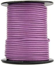 Xsotica® Radiant Orchid Round Leather Cord 2mm 25 meters (27.34 yards)