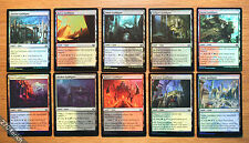 Lot of 10 Guildgate FOIL Dual Lands Set Modern Masters 2017 *Unplayed NM* MTG