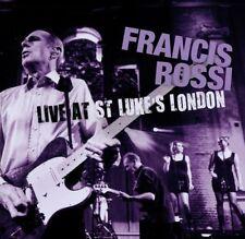 "FRANCIS ROSSI ""LIVE AT ST. LUKE'S, LONDON"" CD NEU"